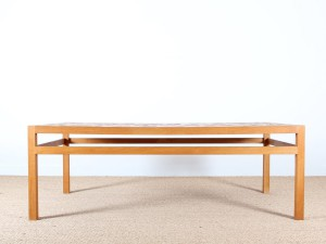 Table basse scandinave en céramique de Tue Pousen