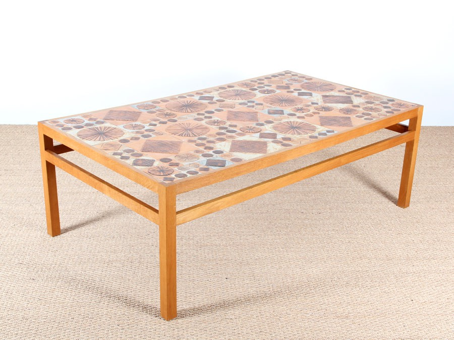 Table basse scandinave en c ramique de tue poulsen - Table basse ceramique design ...