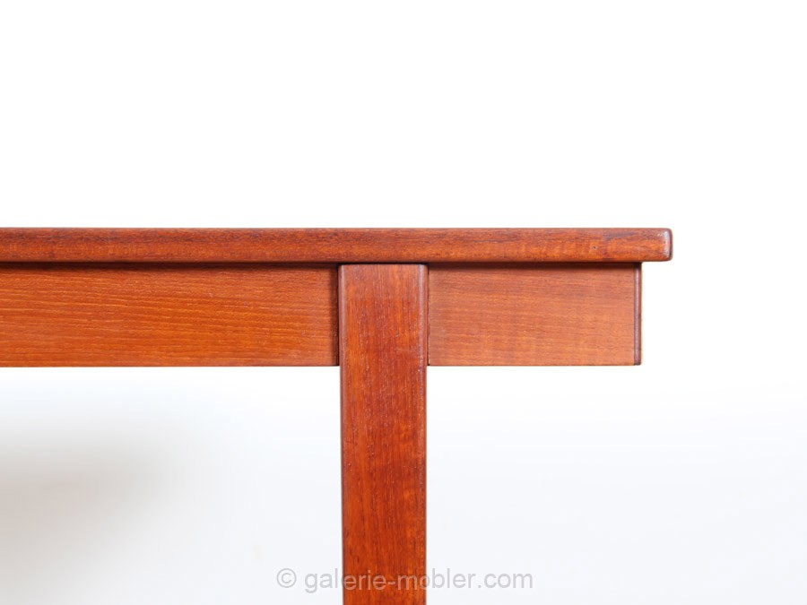 scandinavian dining table in teak 8 10 seats galerie