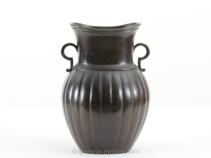 vase disco metal de just andersen