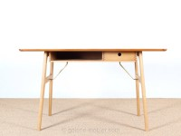 Scandinavian work desk in teak and oak, model RM 13