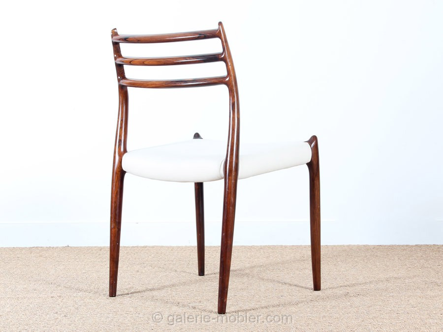 Set of 6 scandinavian chairs in rosewood model 78 galerie m bler - Chaises vintage scandinave ...