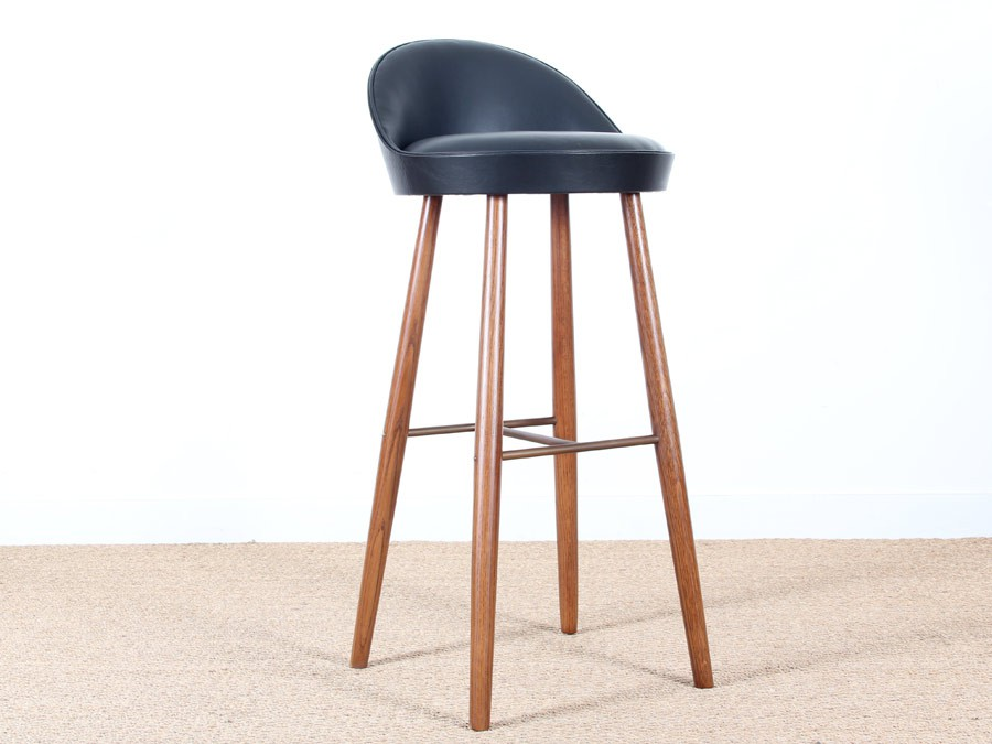 tabouret de bar scandinave 63cm ou 81cm galerie m bler. Black Bedroom Furniture Sets. Home Design Ideas