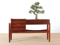 Danish modern rosewood planter table