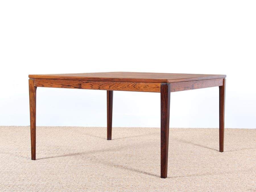 Danish Modern Square Coffee Table In Rio Rosewood Galerie M Bler