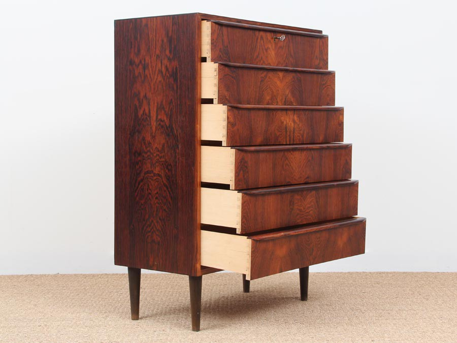 Danish Modern Chest Of Drawers In Rio Rosewood Galerie