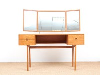 Danish mid-century modern dressing table by Aksel Kjersgaard