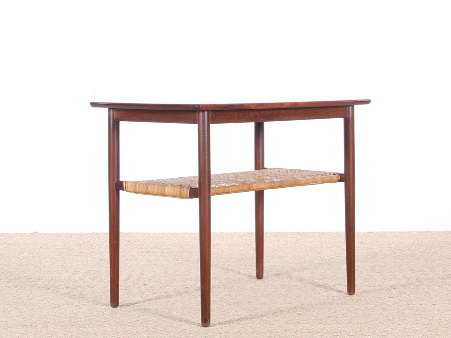 Table d 39 appoint scandinave en palissandre de rio galerie - Table d appoint scandinave ...