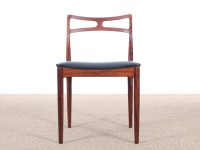 Mid-Century Modern Danish  set  of 4 dining chairs in Rio rosewood  by Johannes Andersen