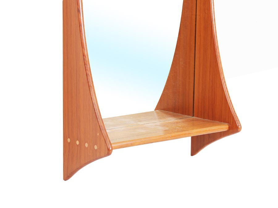 Scandinavian Mirror In Teak