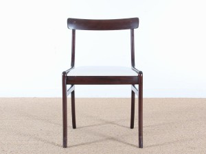 Set of six J. L. Moller Rio rosewood Dining Chairs