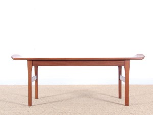 Table basse scandinave en teck