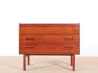 Mid-Century Modern scandinavian dressing table in teak by Arne Wahl Iversen.