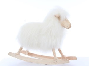 Scandinavian rocking sheep by Povl Kjer