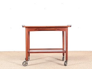 Mid-Century Modern scandinavian serving cart in teck