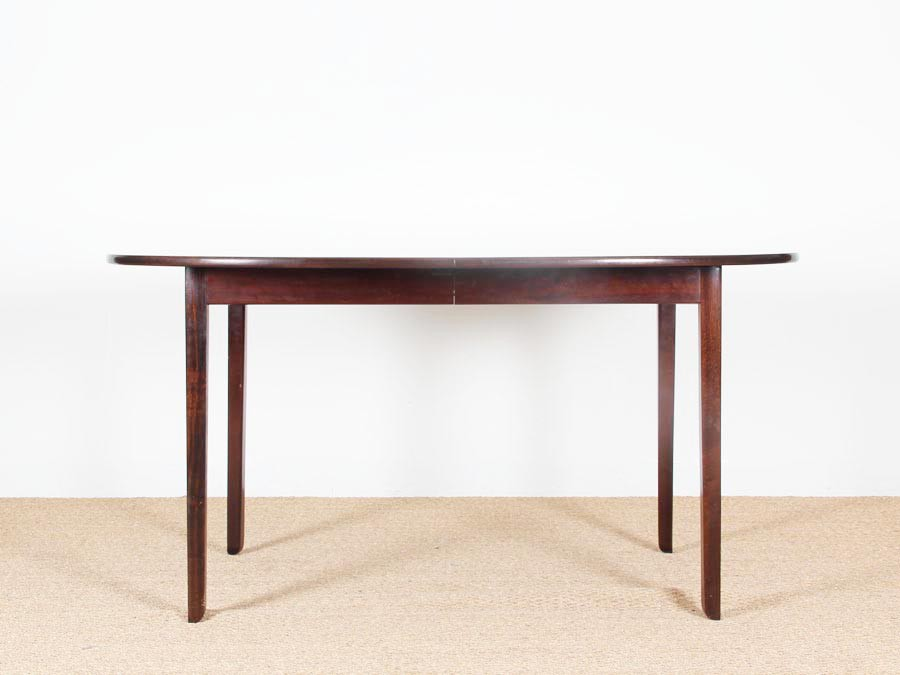 Extending Dining Table Seats 12 Mahogany Circular