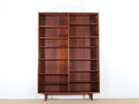Mid-Century Modern scandinavian Bookcase in Rio Rosewood by Gunni Omann Junior