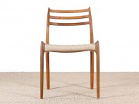 Mid-Century Modern danish chair in teak model 78 by Niels O. Møller