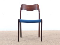 Set of 4 chairs in rosewood, model 71