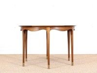 Mid-Century  modern large  coffe table in walnut by Ole Wanscher