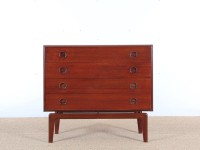 Mid-Century Modern Danish chest of drawers in teak by Arne Hovmand-Olsen