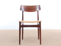 Mid-Century Modern danish set of 4 rio rosewood dining chairs