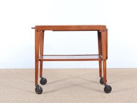 Mid-Century Modern serving trolley in teak by Yngve Ekström for Källemo