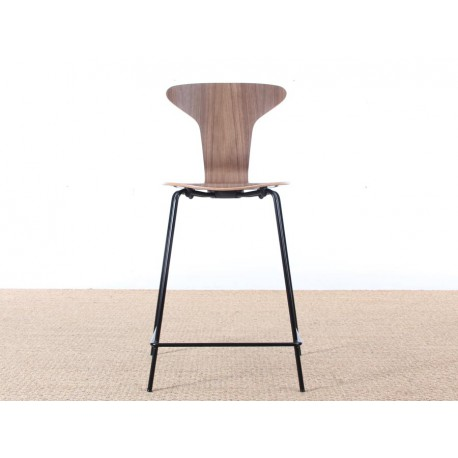 tabouret de bar scandinave mod le munkegaard nouvelle dition h 63 77 cm galerie m bler. Black Bedroom Furniture Sets. Home Design Ideas