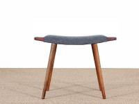 Danish modern stool with handles. New release - 9 colors