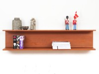 Mid-Century  modern wall shelve in teak by Pedersen and Hansen