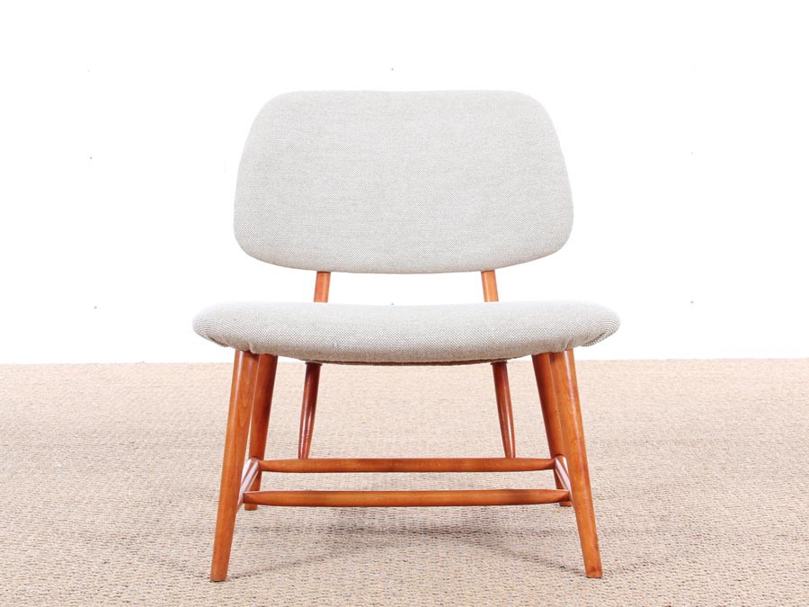 ... Mid Century Modern Pair Of TV Chairs By Alf Svensson ...