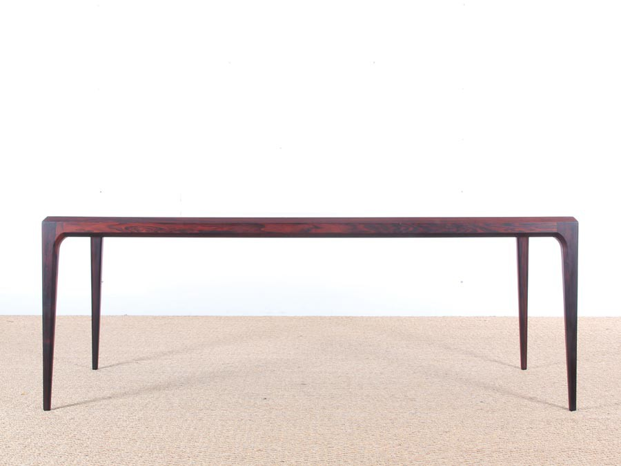 Scandinavian Occasional Table In Rosewood Designed By Ohannes Andersen