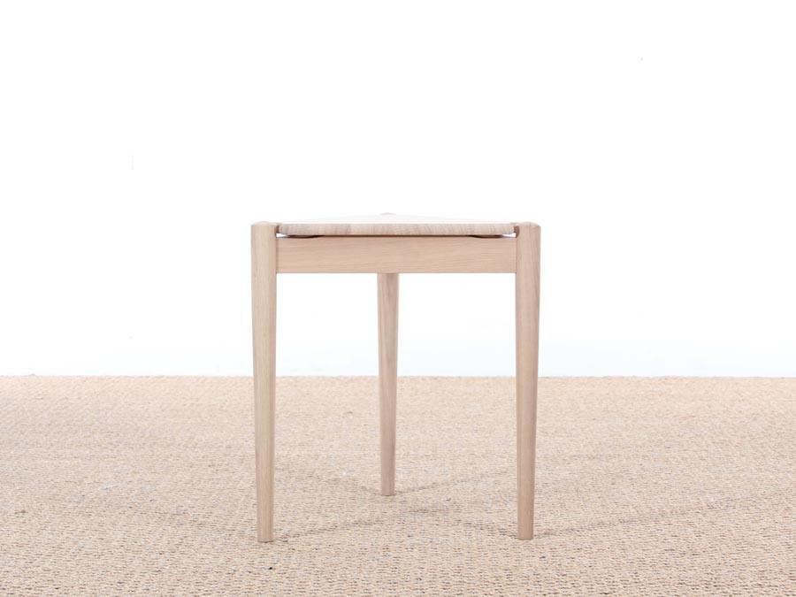 Mid Century Danish Side Table Or Stool In Oak, New Edition ...