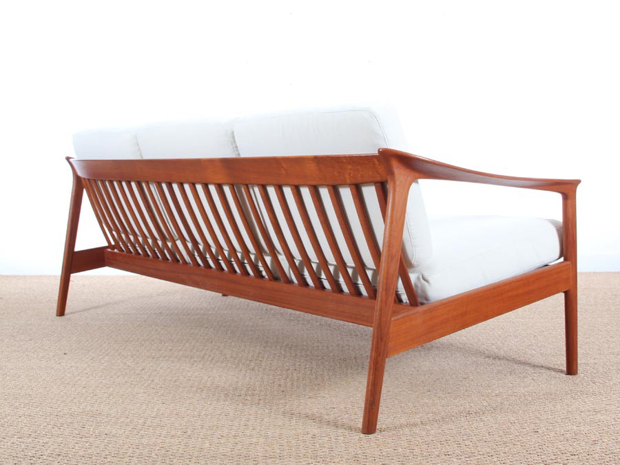 Mid-Century danish 3 seat sofa in teak model Colorado by ...
