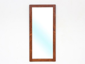 Mid-Century modern mirror in Rio rosewood