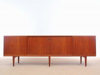 Mid-Century  modern tall sideboard by Harry Rosengren Hansen