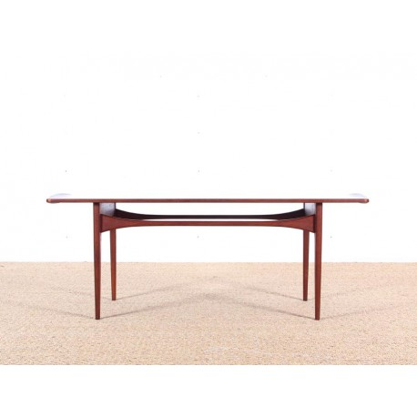 Scandinavian coffe table first edition by peter hvidt for Red edition table basse