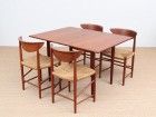 Mid-Century Modern Danish dining table by Borge Mogensen