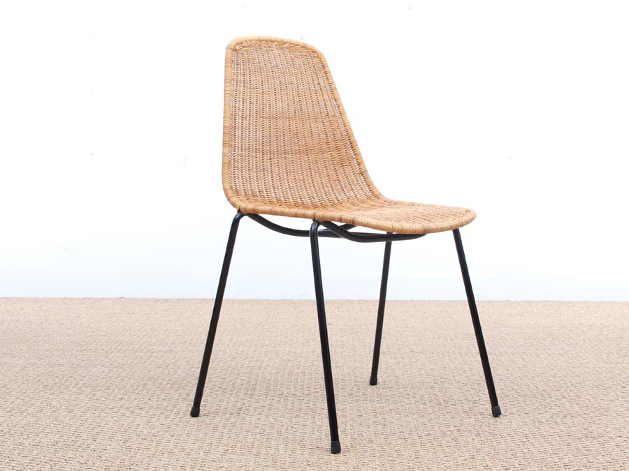 basket product kettal chair by collection dwell large