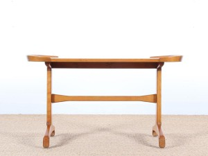 Mid-Century  modern  coffee table in beech and elm