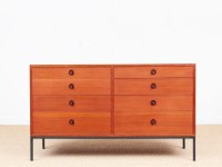 Mid-Century  modern double chest of drawers by Borge Mogensen