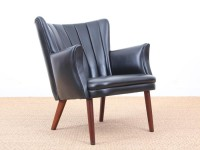 Mid-Century  modern scandinavian armchair model Teddy by Sven Skipper