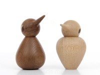 Bird large in oak or smoked oak by Kristian Vedel for Architectmade. New realese.