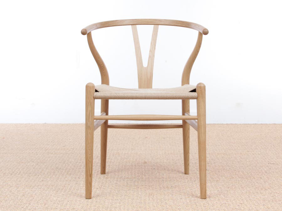 chaise scandinave modle wishbone ou ch 24 - Chaise Danoise