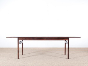 Mid-Century  modern scandinavian coffee table in Rio rosewood