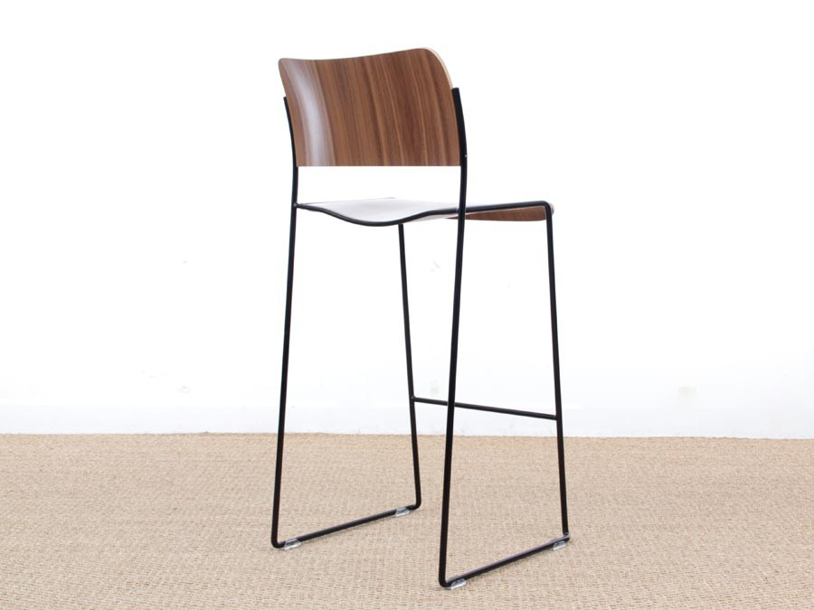 tabouret de bar scandinave mod le 40 4 edition neuve 63 cm ou 77 cm galerie m bler. Black Bedroom Furniture Sets. Home Design Ideas