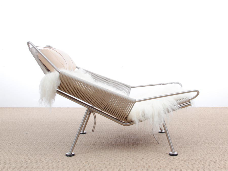 ... Lounge Chair Flag Halyard PP 225 By Hans Wegner New Edition ...