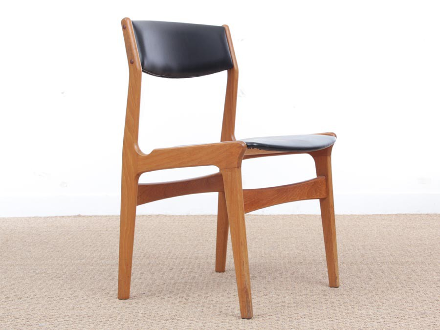 4 dining chairs farmhouse table midcentury modern scandinavian set of dining chairs by dyrlund
