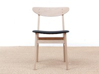 Mid-Century  modern scandinavian 210 r chair by Thomas Harlev, colored seat New edition.