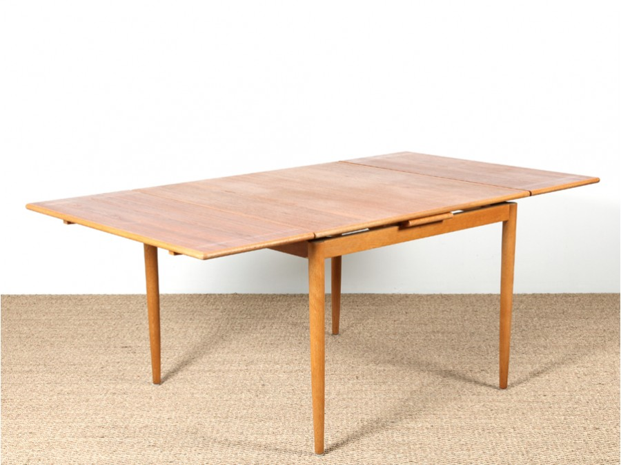 Entretien table en teck for Table scandinave en teck